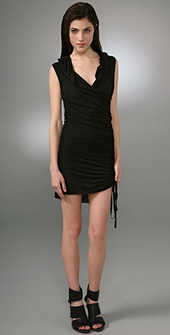A.L.C. Sleeveless Hoodie Dress
