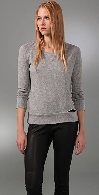 A.L.C. Split Seam Sweatshirt