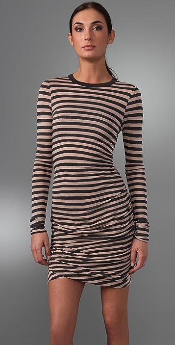 A.L.C. Striped Twisty Dress
