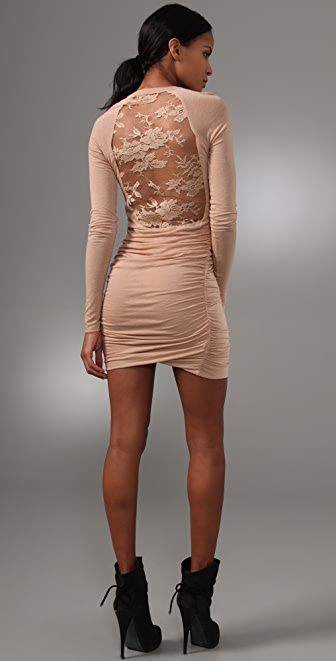 A.L.C. Lace Back Twisty Dress