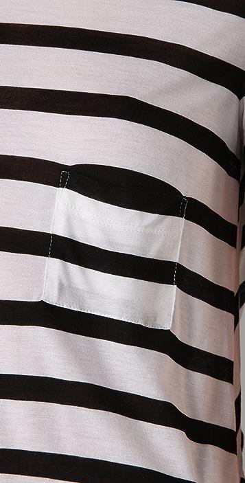 A.L.C. Striped Stewart Tee