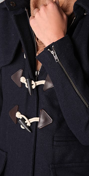 A.L.C. Hooded Duffel Coat