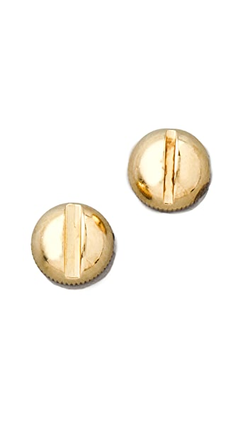 A.L.C. Double Sided Screw Earrings
