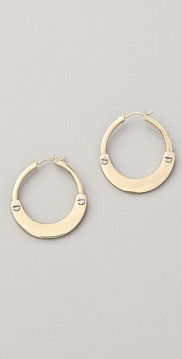 A.L.C. Handcuff Earrings