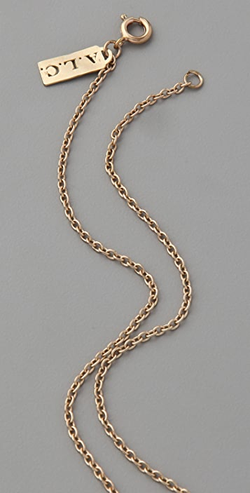 A.L.C. Heart Shaped Nail Necklace