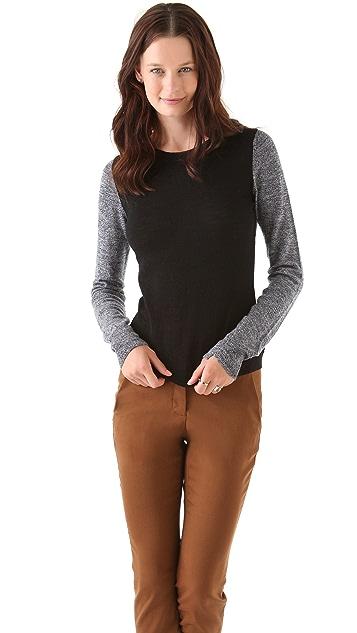 A.L.C. Back Block Sweater