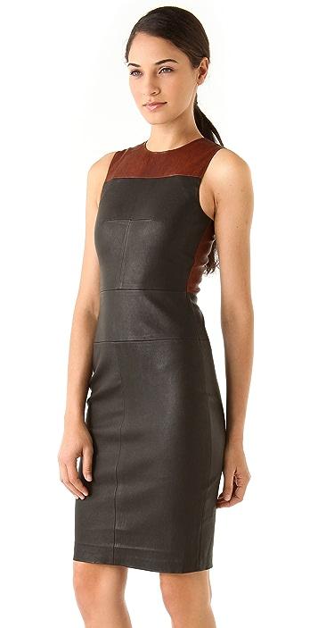 A.L.C. Mika Leather Dress