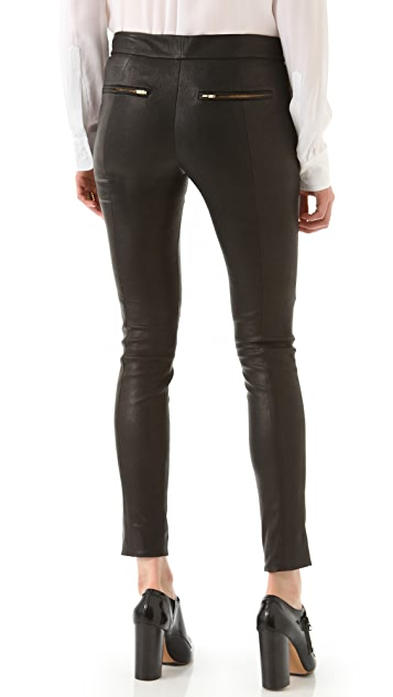 A.L.C. Leather Ridley Pants