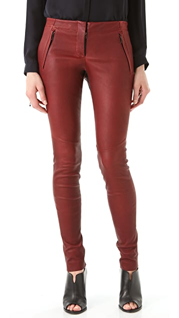 A.L.C. Stefan Leather Pants