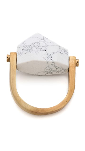 A.L.C. Manacle Stacking Ring
