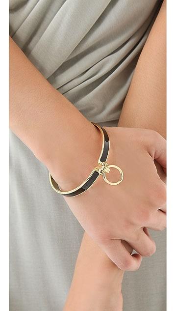 A.L.C. Bondage Enamel Bracelet