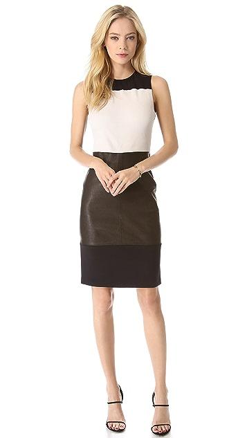 A.L.C. Curil Leather Dress