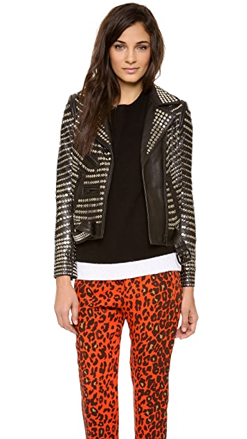 A.L.C. Blake Leather Jacket