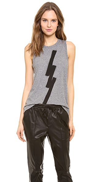 A.L.C. Graphic Muscle Tee