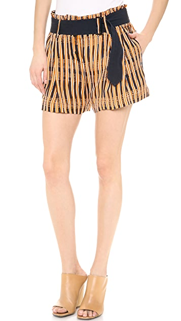 A.L.C. Oxford Shorts