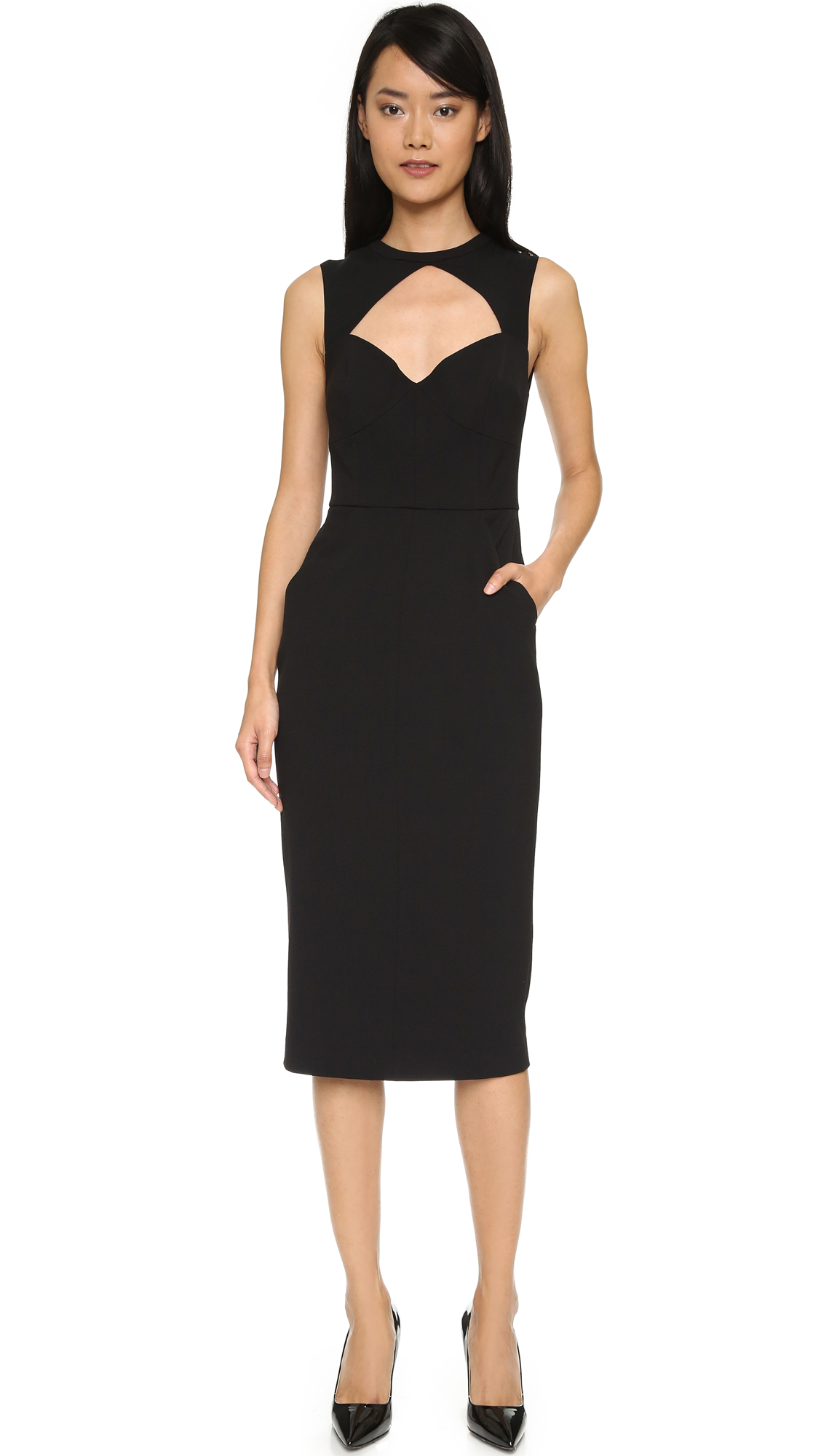 A.L.C. Elizabeth Dress - Black at Shopbop