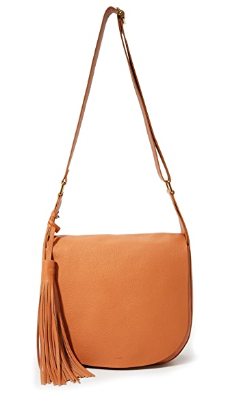 A.L.C. Jackson Saddle Bag - Gold