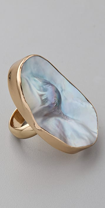 Charles Albert Mabe Pearl Ring