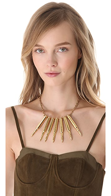 Charles Albert Alchemia Bullet Necklace