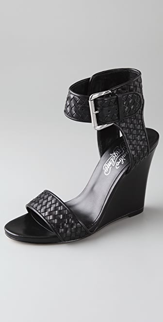 Alejandro Ingelmo Gilda Woven Wedge Sandals