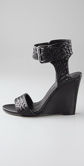 Alejandro Ingelmo Gilda Woven Wedge Sandals