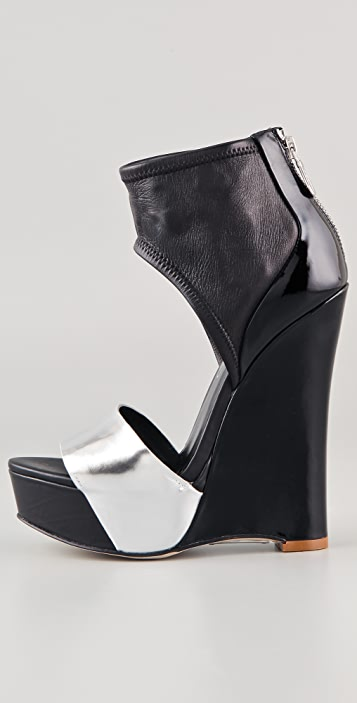 Alejandro Ingelmo Luna Wedge Sandals