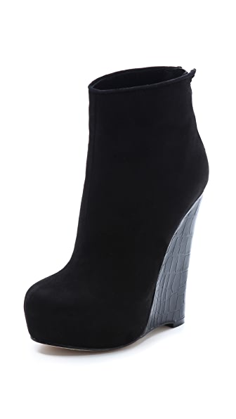 Alejandro Ingelmo Crosby Wedge Booties