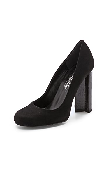 Alejandro Ingelmo Lucy Pumps with Geometric Heel