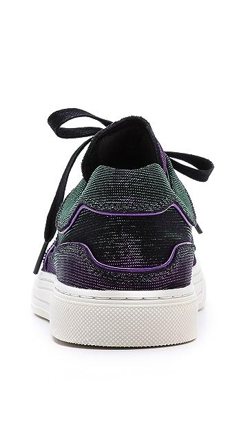 Alejandro Ingelmo Toby Metallic Sneakers