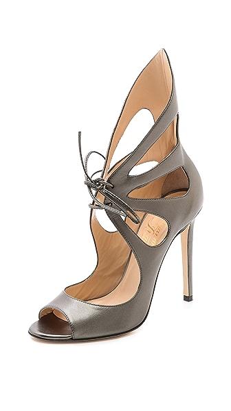 Alejandro Ingelmo Peep Toe Mariposa Sandals