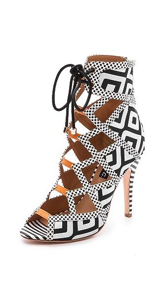 Alejandra G Wanda Lace Up Sandals