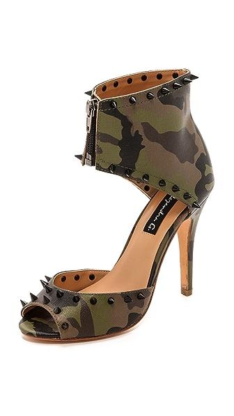 Alejandra G Beccar Camo Sandals