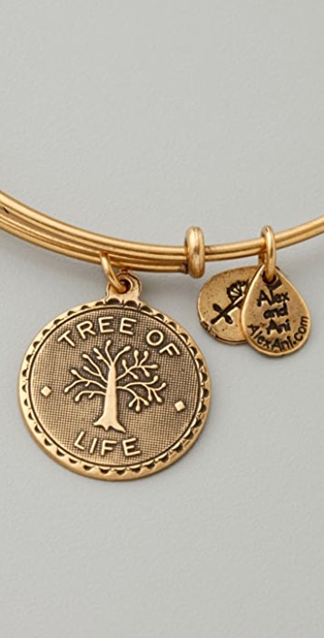 Alex and Ani Tree of Life Expandable Bangle Set