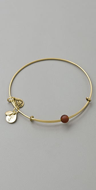 Alex and Ani Cornelian Expandable Wire Bangle for Haiti