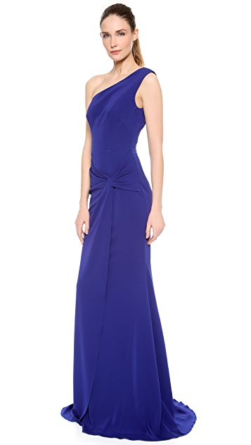 Alex Perry Valetta One Shoulder Gown