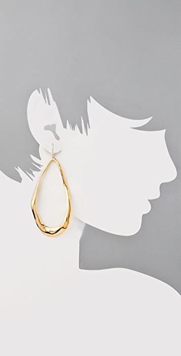 Alexis Bittar Liquid Large Tear Link Earrings