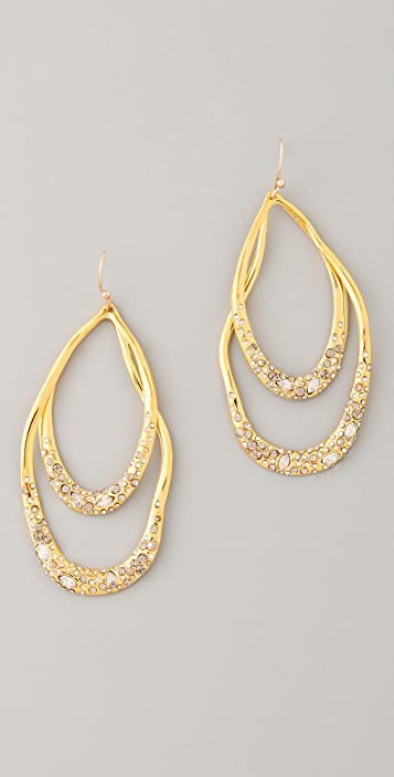 Alexis Bittar Orbiting Tear Earrings
