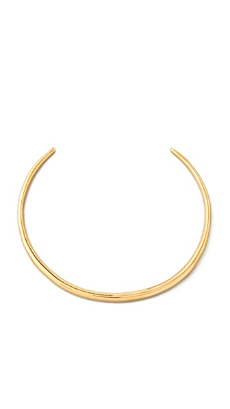 Alexis Bittar Liquid Gold Thin Collar - Gold