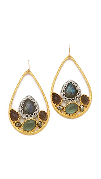 Alexis Bittar Siyabona Stone Earrings