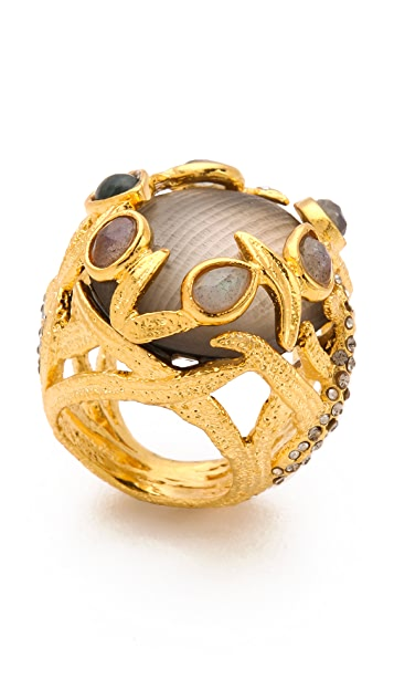 Alexis Bittar Allegory Clustered Vine Ring