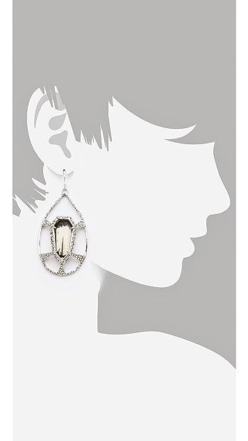 Alexis Bittar Delano Deco Tear Earrings