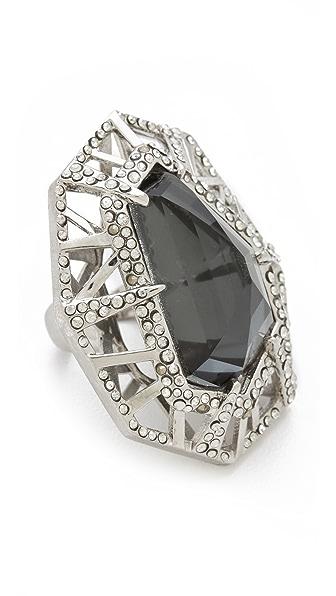 Alexis Bittar Delano Large Deco Ring