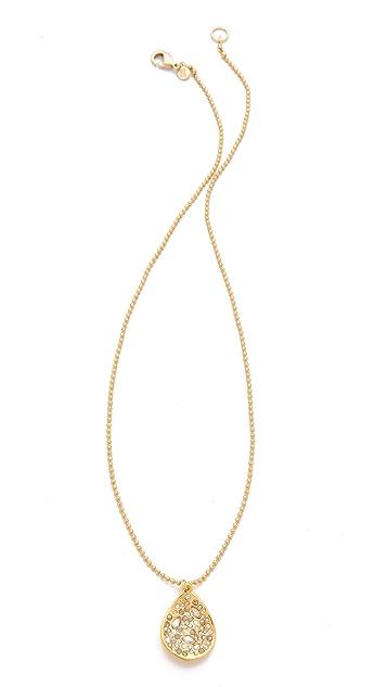 Alexis Bittar Crystal Drop Necklace