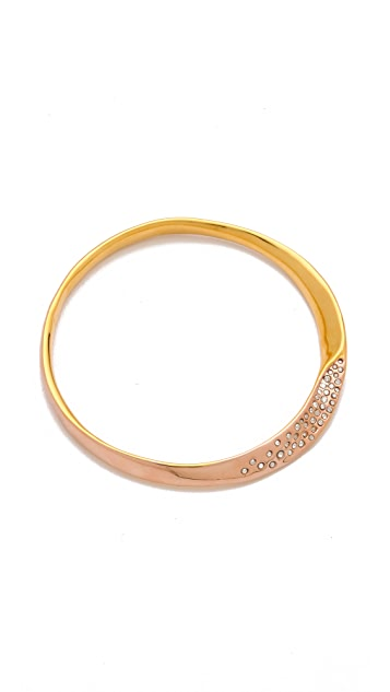 Alexis Bittar Bel Air Twisted Bangle
