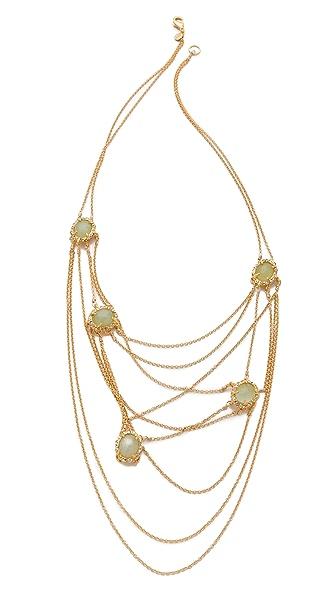 Alexis Bittar Siyabona Draping Necklace