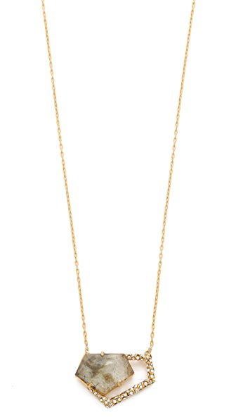 Alexis Bittar New Wave Pentagon Necklace