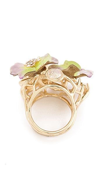 Alexis Bittar Ophelia Pansy Ring