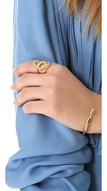 Alexis Bittar New Wave Overlapped Ring