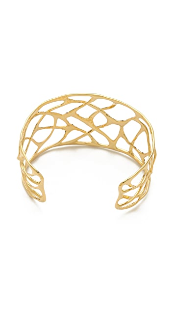 Alexis Bittar Liquid Small Pave Interlaced Cuff