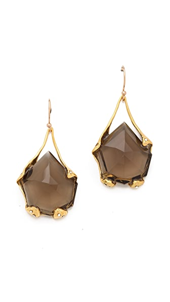 Alexis Bittar Liquid Suspended Molten Earrings